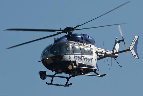 Polizeihubschrauber Hessen