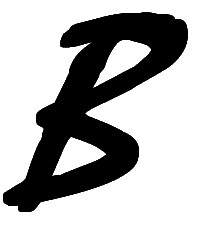 """""""B"""" in question by Ben Kickert"""