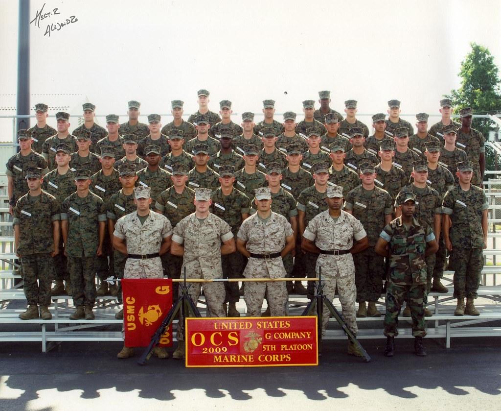 Forgotten Fifth Platoon - USMC OCS | Hector Alejandro | Flickr