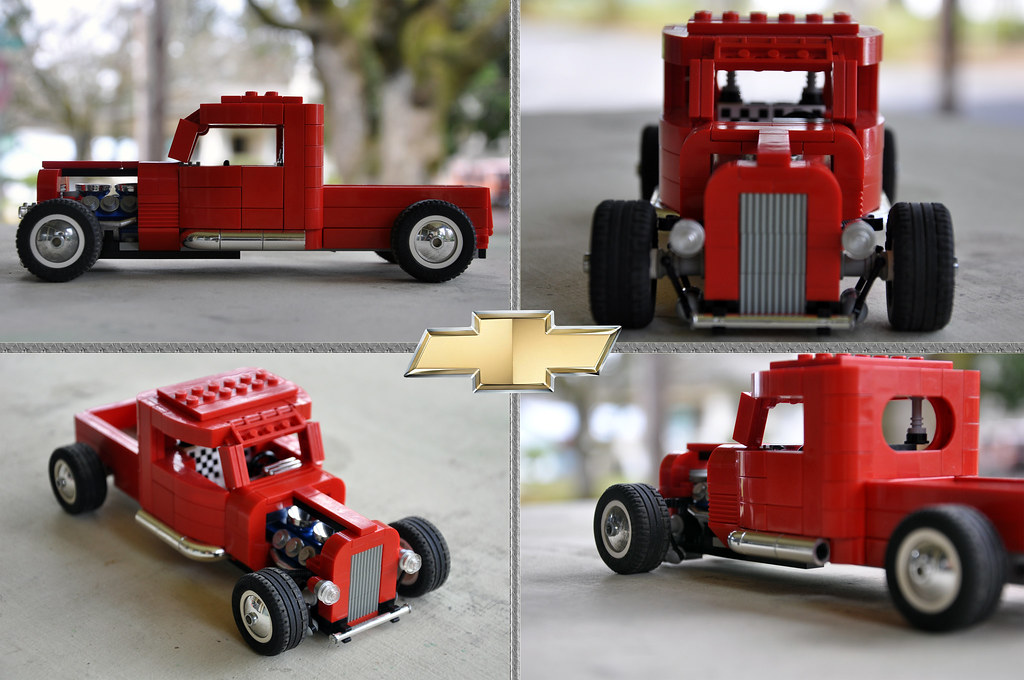 Lego Custom 36 Chevy Truck Please View Large Built For