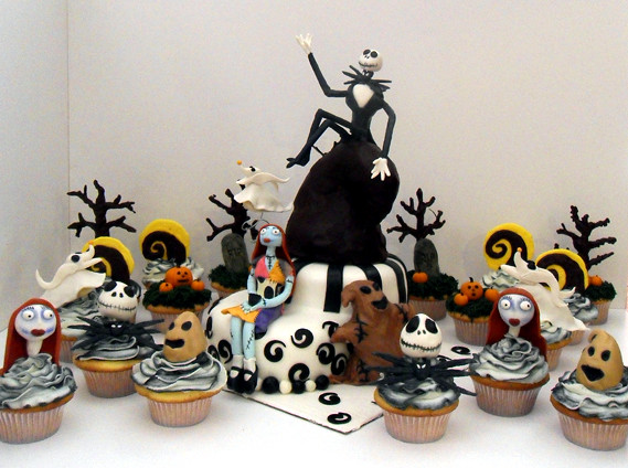 Nightmare Before Christmas Cake & cupcakes | Explore dragosi ...