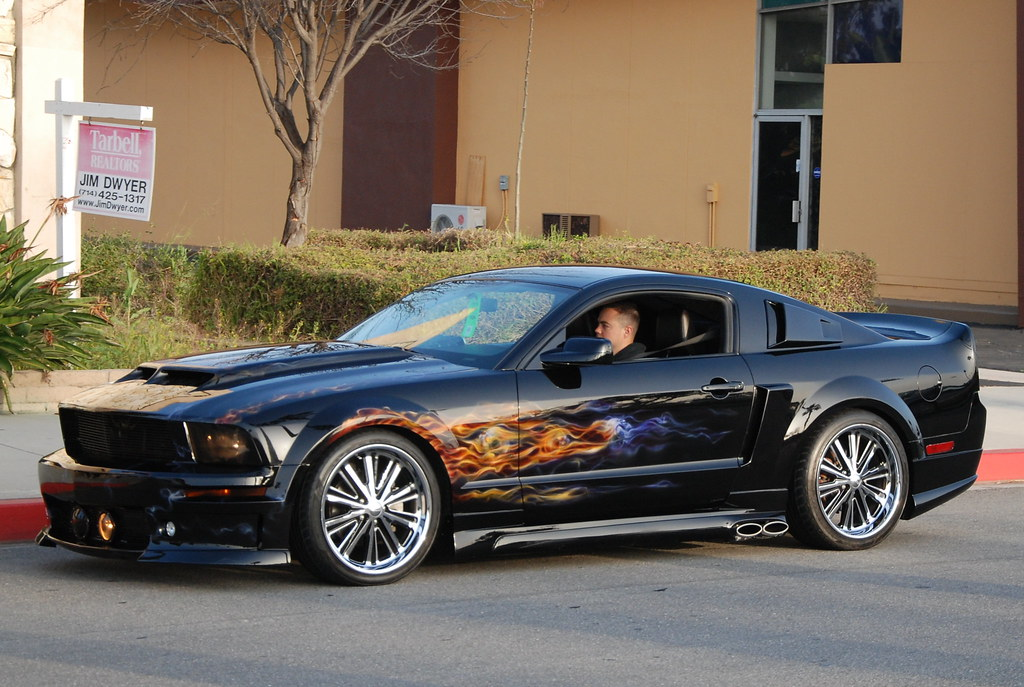 Mustang Custom Paint Jobs