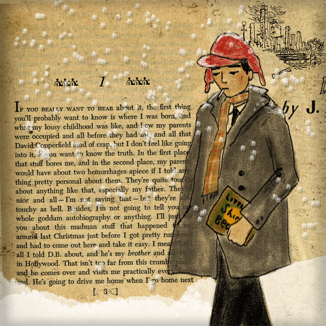 an analysis of the jerome david salingers work by holden caulfield Download the app and start listening to 'the catcher in the rye' by jd salinger - sidekick [study guide] holden caulfield has jd salinger's best-known work.