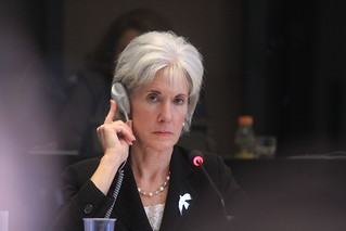 Kathleen Sebelius at the World Health Assembly | by US Mission Geneva