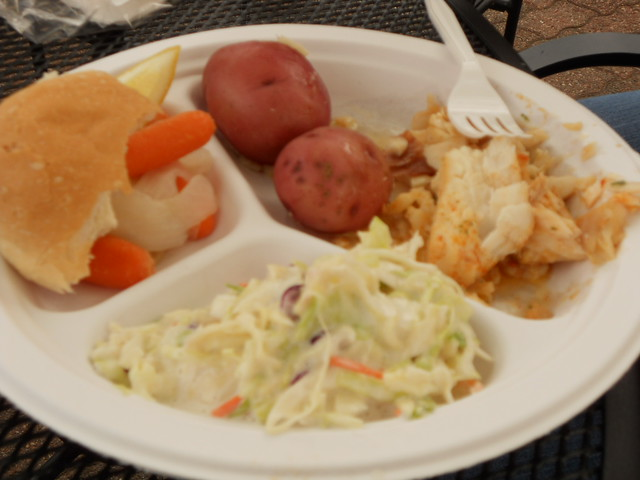 Mmmmm fish boil fish boil with slaw potatoes carrots for Wisconsin fish boil