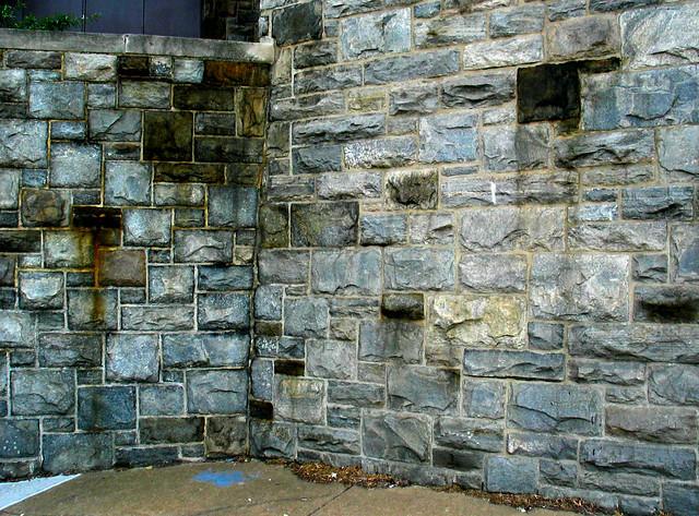 Weathered Granite Stone : Stone granite blocks building walls weathered stained