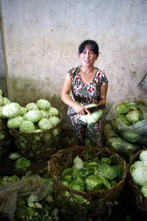 Cabbage Vendor - Southern Vietnam | by The Hungry Cyclist