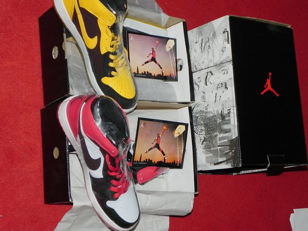 73f2be4c563b ... Nike Air Jordan Retro 1 I BMP Old Love New Love Edition (WhiteBlack-Varsity