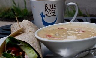Blue Dog Coffee Roasters Cafe Paris On