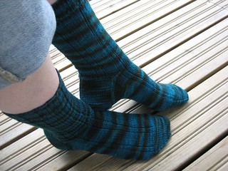 Madder Ribbed Socks from Wollmeise Tambopata WD | by taijah