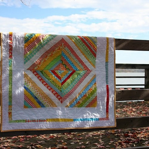 My favorite quilt, today for the BQF | by katie@swimbikequilt