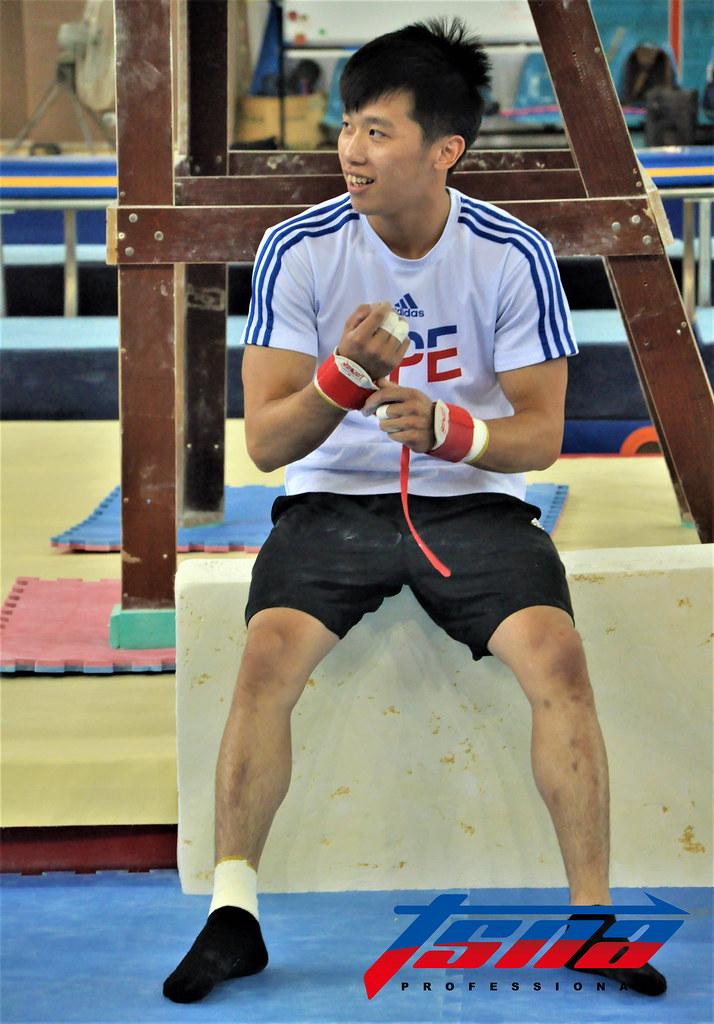 體操選手李智凱。(張哲郢/攝)