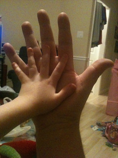Project Parent 365 - Day 1: The Hands | by BuckDaddy
