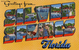 Greetings from Silver Springs, Florida - Large Letter Postcard | by Shook Photos