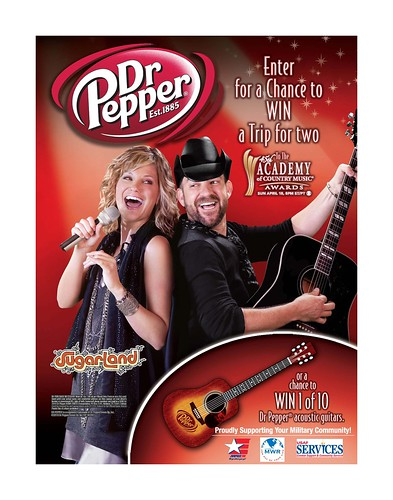 AAFES Dr Pepper Academy of Country Music Awards Sweepstakes | by Army & Air Force Exchange Service PAO