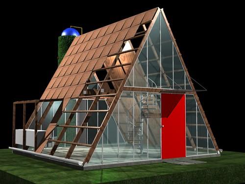 Casa ecol gica prefabricada img 01 el art fice i igo - Casa prefabricada ecologica ...