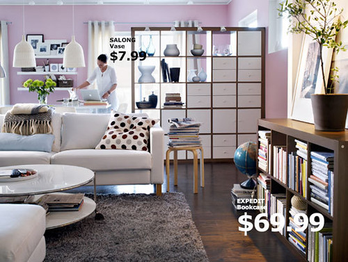 ikea expedit as room divider ernmcc Flickr