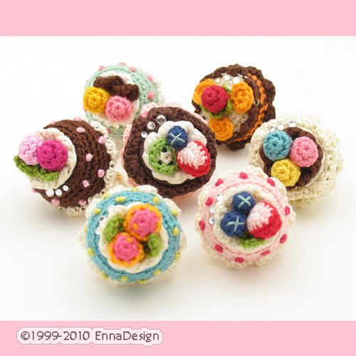 Amigurumi Magische Ring : Amigurumi Cake Rings available at my shop Emi Kanesada ...