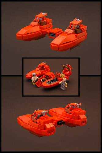 Twin Pod Cloud Car | by Legohaulic