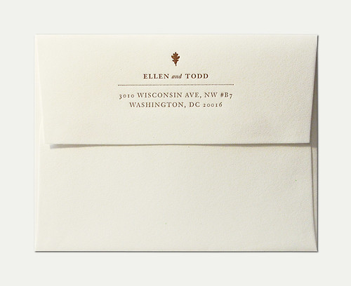 Wedding invitation envelope flickr photo sharing