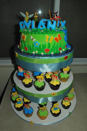 Peter Pan Map Cake
