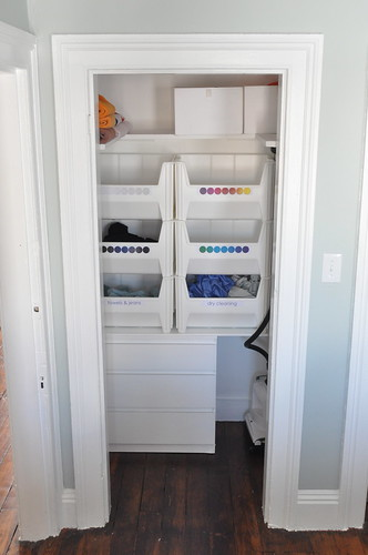 small closet after | by brick city love