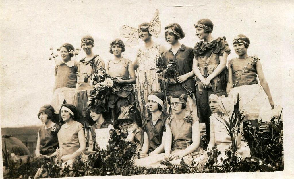 Carnival 1920 Mount Tabor Carnival 1920
