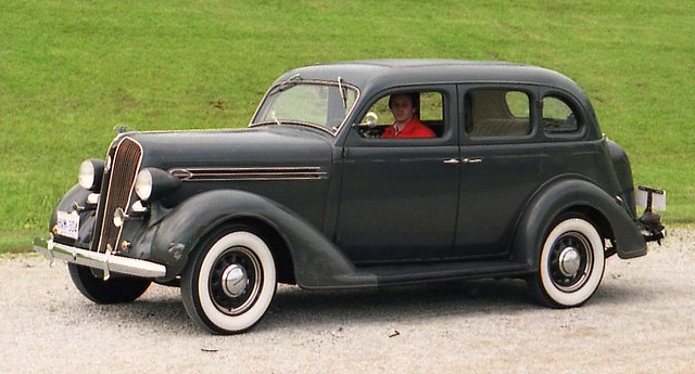 1936 plymouth 4 door richard spiegelman flickr