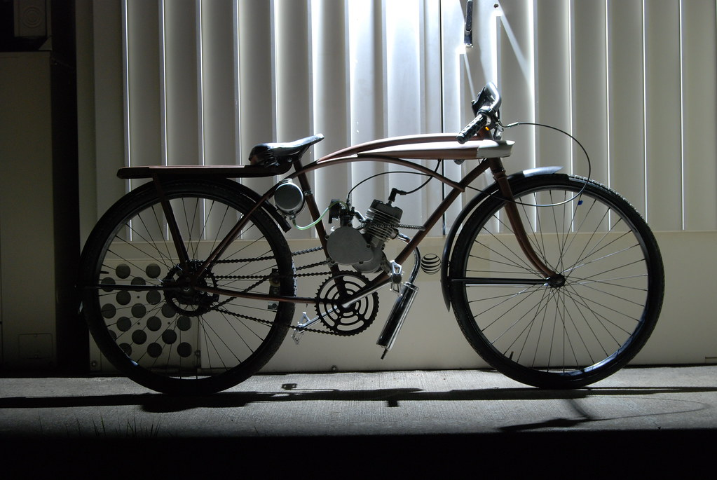 Motorbicycle Motorized 50s Sears Bicycle Bryan
