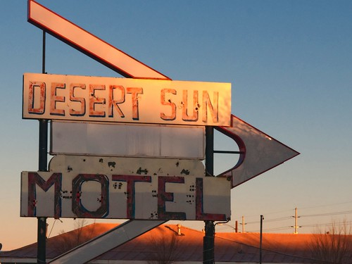 Desert Sun in Winslow | by Pete Zarria