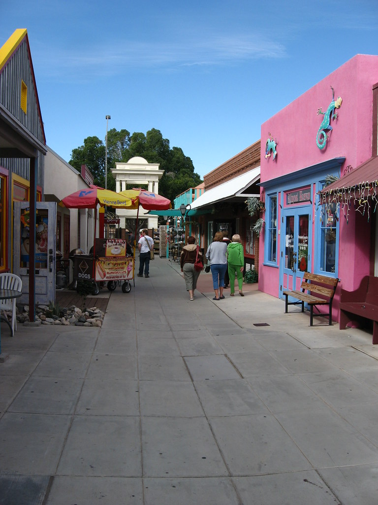 Downtown Yuma Arizona 7 Yuma Is A City In And The