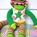 Andre Mars Sock Monkey