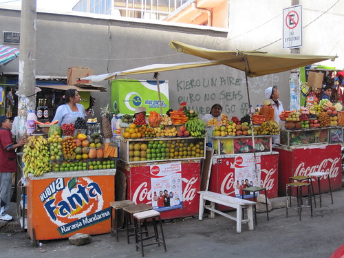 Smoothie Stands | by veganbackpacker