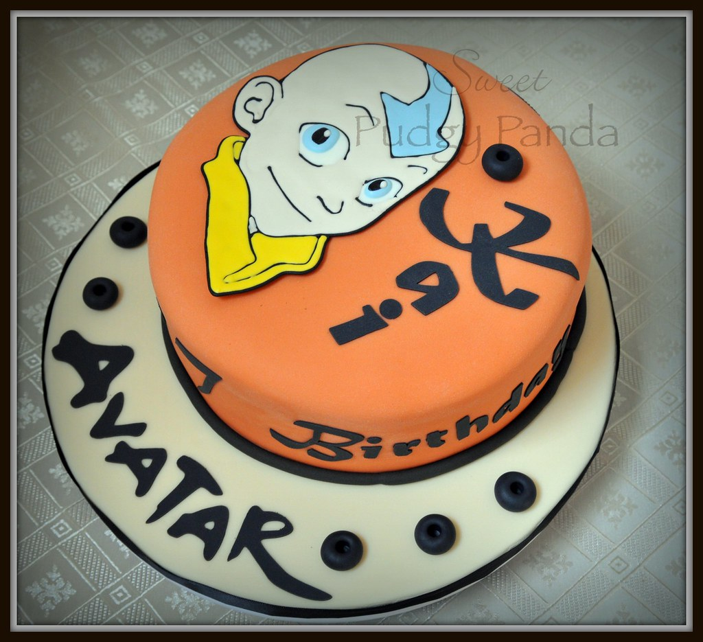 Avatar The Last Airbender Cake This Cake Is For My Son S