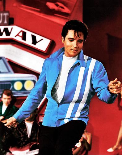 Elvis Presley in Speed...