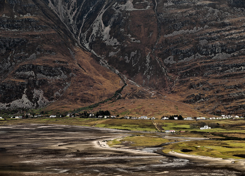 Torridon Wester Ross Scottish Highlands Uk Looking
