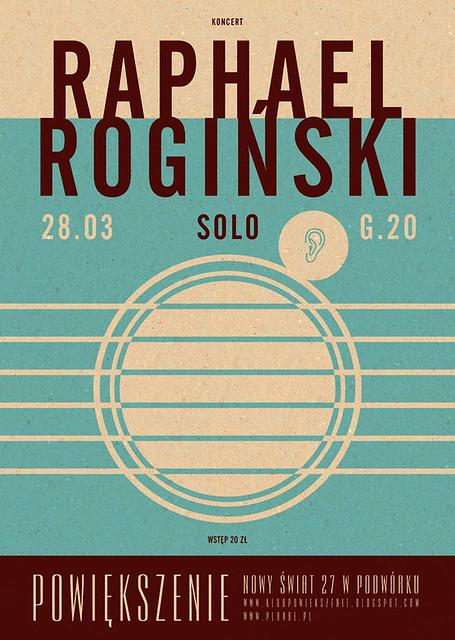 Raphael Rogiński Poster Poster For Warsaw Club Powieksze