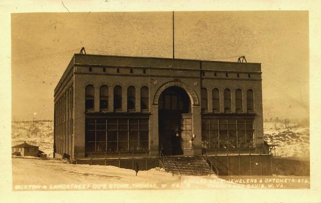 Historic Buxton And Landstreet Building Postcard Contras