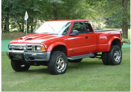 1996 Chevrolet S-10 ZR2 Dually | I do not own this picture ...