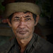 Charming Lao man with soulful eyes