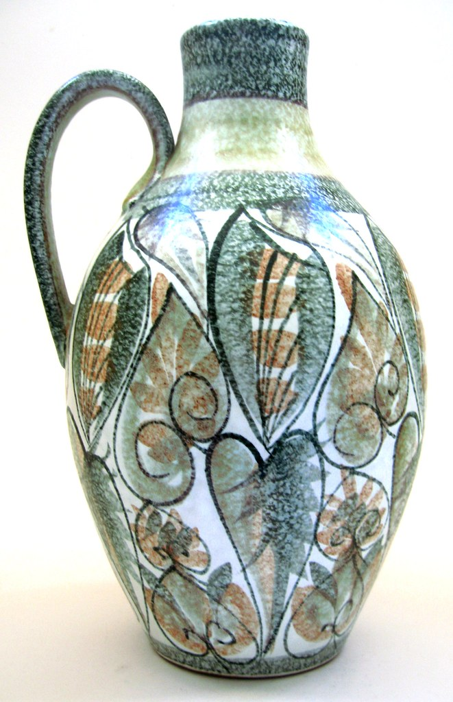 1960s Bourne Denby Vase By Glyn Colledge Facsimilie Signat Flickr