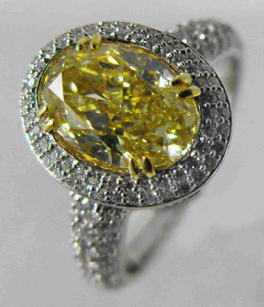 Canary Yellow Diamond Ring Tiffany