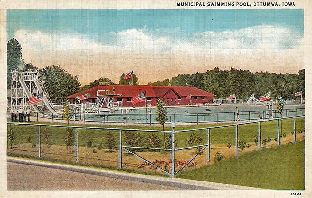 Municipal Swimming Pool Ottumwa Iowa Flickr Photo