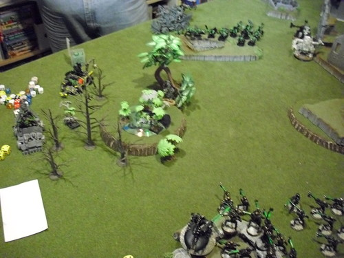 Ork turn 2 has rapid movement on the trukks | by jon_a_ross