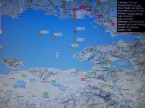 Istanbul Air Traffic This is an