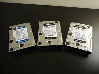 WD HDD 3 x 640 GB | by Forrestal_PL