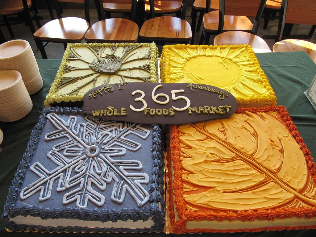 Whole Foods Danbury Cakes