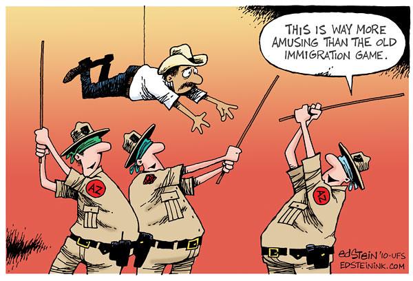 Mexican Immigration Political Cartoon Www