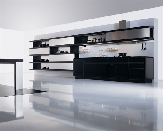 Kitchen Cabinets Flooring And Countertop Combinations