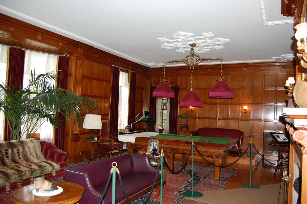 Eastman House Billiard Room This Is A Shot Of A